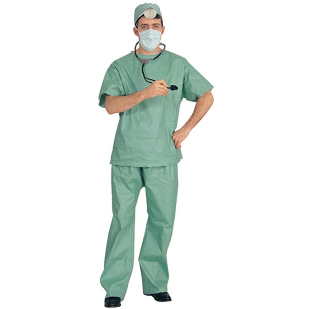 Doctor Surgeon in Scrubs Adult Halloween Costume