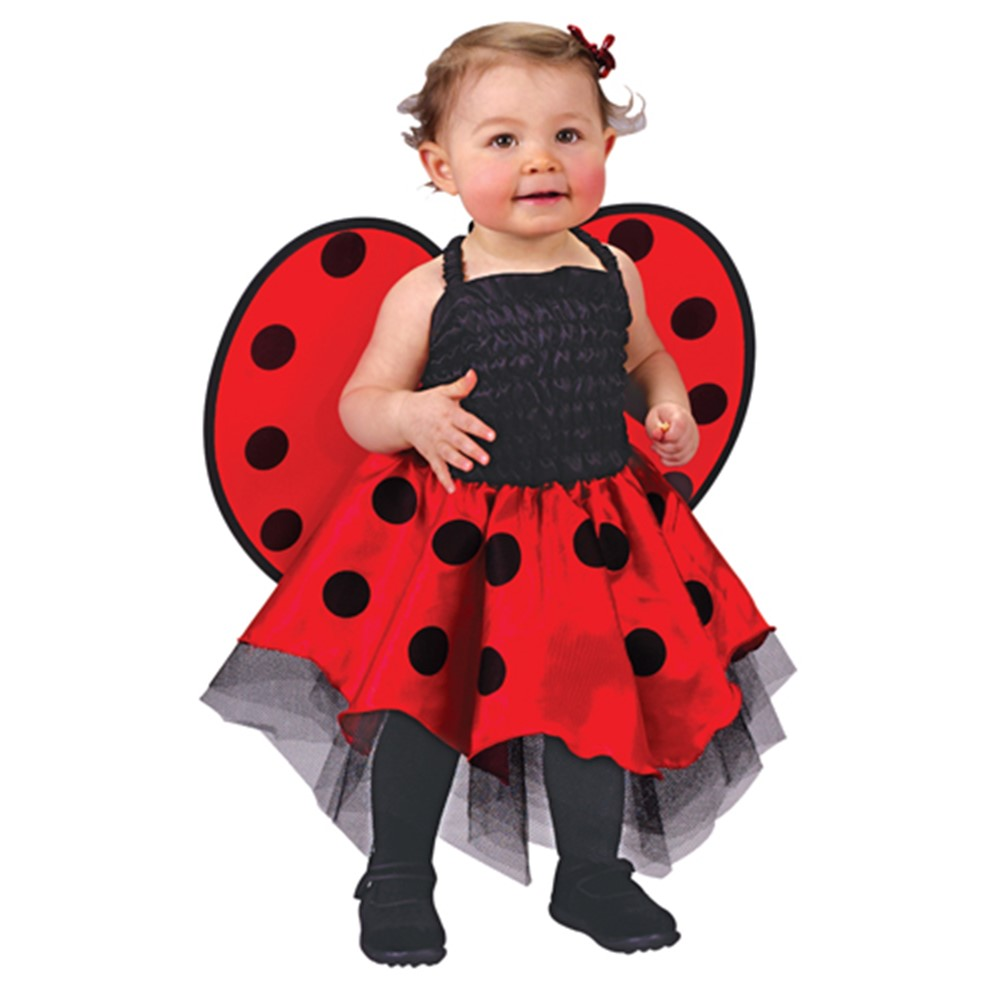 Lady Bug Infant Halloween Costume (UP TO 24M)