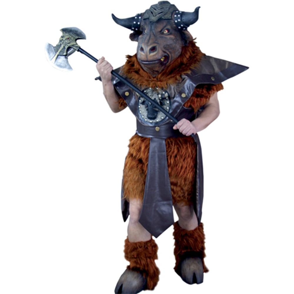 Mens Minotaurus Greek Mythology Monster Deluxe Costume