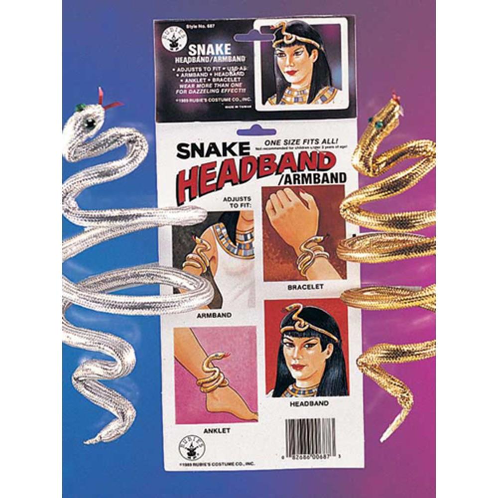 Snake Bracelet Armband for Eyptian Halloween Costume