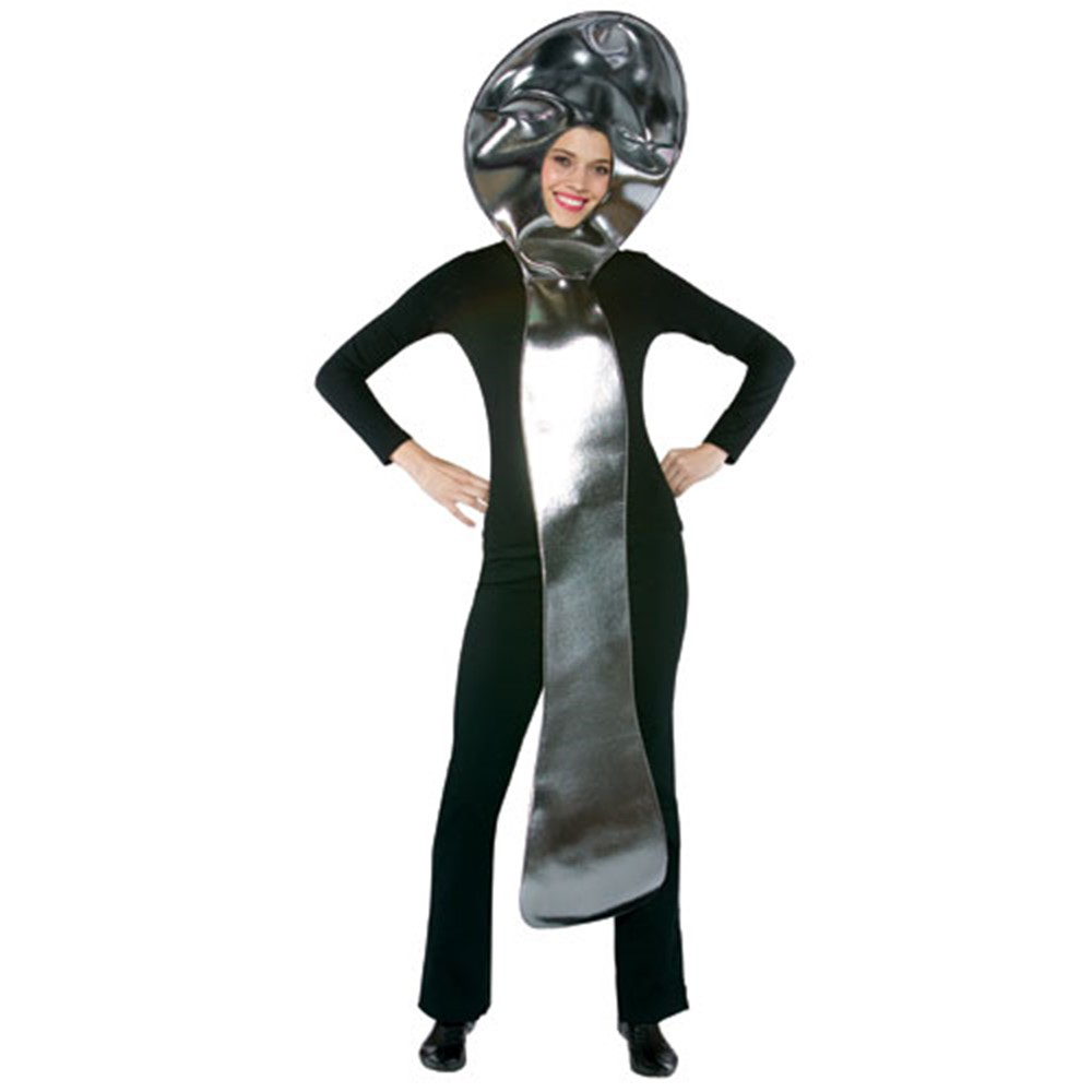Spoon Silverware Adult Standard Size Costume