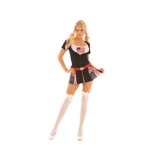 Women's American Princess Halloween Costume
