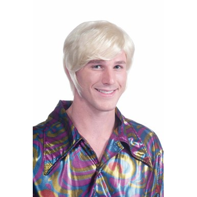 70's Blonde  Disco Guy Wig