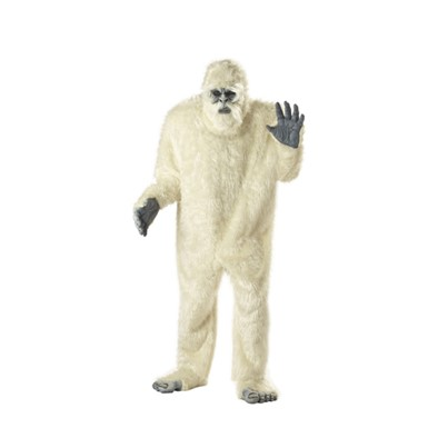 Abominable Snowman Costumes - Mens