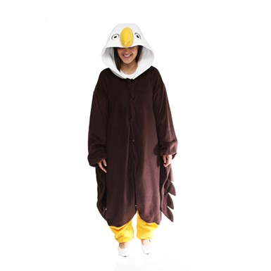 Adult Bald Eagle Mascot Costume