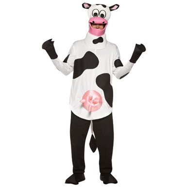 Adult Cow Costume - Farm Cow