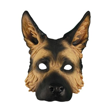 Adult German Shepherd Mask