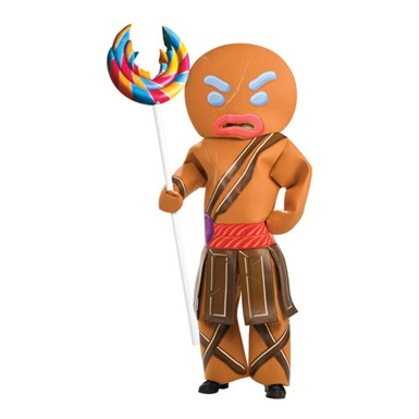 Adult Gingerbread Man Costume - Warrior