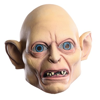 Adult Gollum Foam Latex Halloween Mask