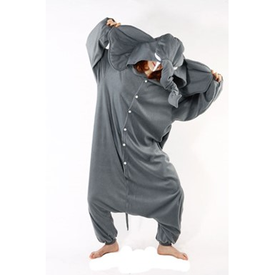 Adult Gray Elephant Costume