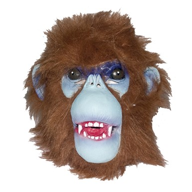 Adult Hairy Chimp Mask Animal Halloween Costumes