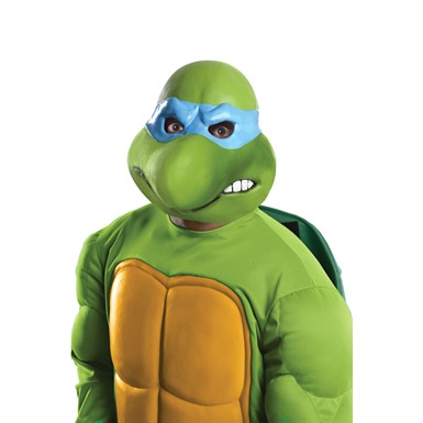Adult Ninja Turtles Leonardo Vinyl Mask