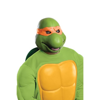 Adult Ninja Turtles Michelangelo Vinyl Mask