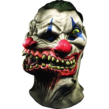 Adult Siamese Clown Halloween Mask – Scary Clown Mask