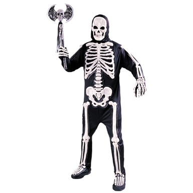 Adult Skeleton Costume - Totally Skelebones