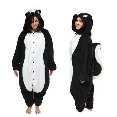 Adult Skunk Mascot Costume