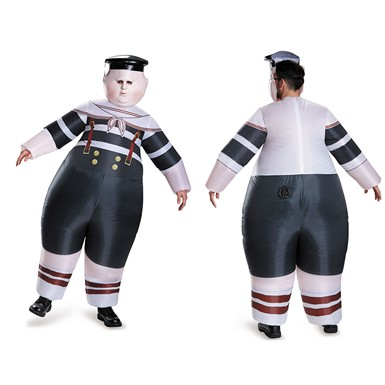 Adult Tweedle Dum/Tweedle Dee Inflatable Costume Standard Size