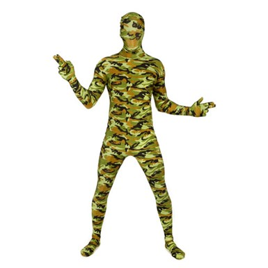 Army Combat Skintight Bodysuit - Morphsuits