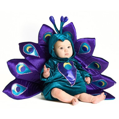 Baby Peacock Infant Toddler Halloween Costume