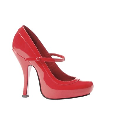 Babydoll Red Mary Jane Shoes Costume Accessory
