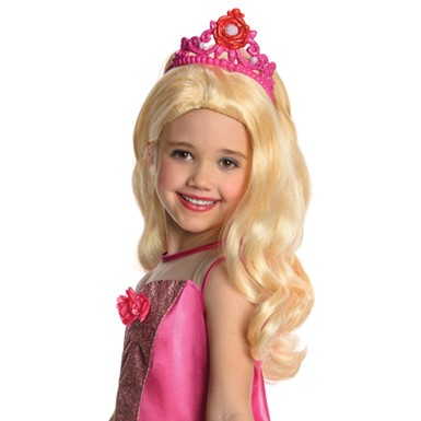 Barbie Kristyn Wig With Tiara