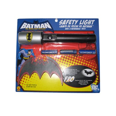 Batman Flashlight and Batarang