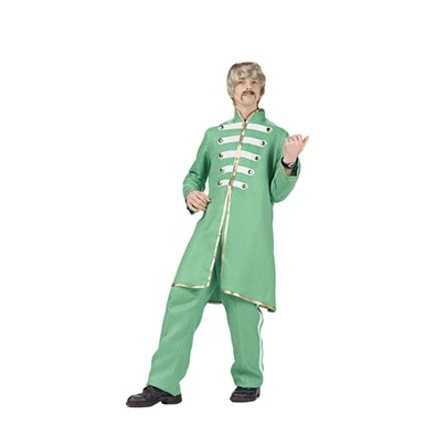 Beatles Halloween Costumes - Sgt. Pepper Band Green