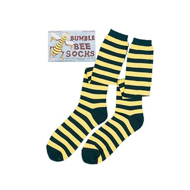 Bee Striped Socks