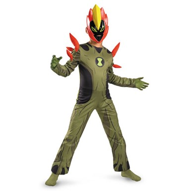 Ben 10 Swampfire Boys Alien Halloween Costumes