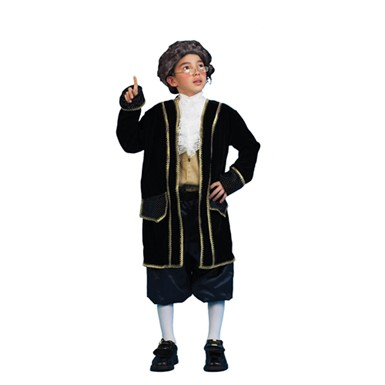 Ben Franklin Historical Child Halloween Costume