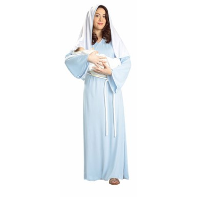 Biblical Mary Halloween Costume for Adults