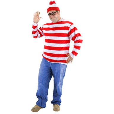 Big & Tall Waldo Costume Kit