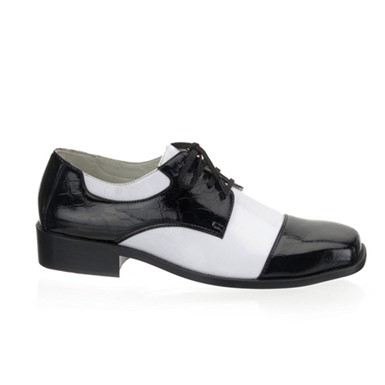 Black and White Gangster Shoes - 50's