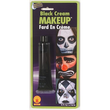 Black Cream Makeup