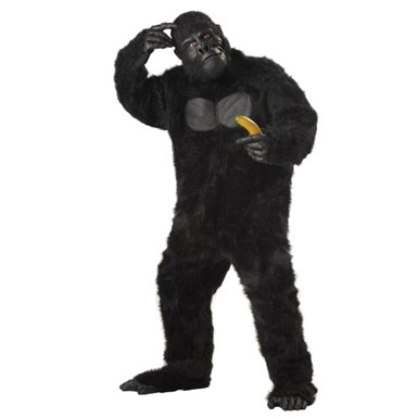 Black Gorilla Costume - Mens