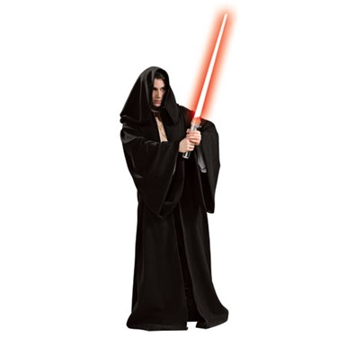 Black Sith Robe Costume- Deluxe Star Wars