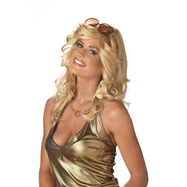Blonde Discorama Mama Wig for Adult Halloween Costume