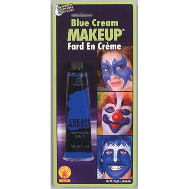 Blue Cream Makeup