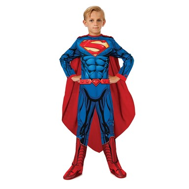 Boys DC Superman Halloween Costume