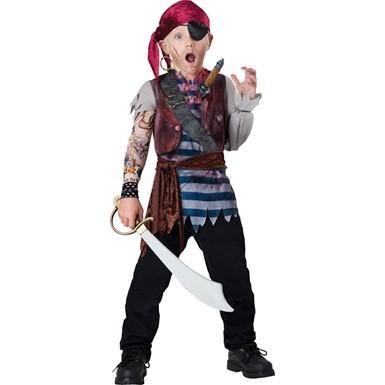 Boys Dead Man Pirate Costume
