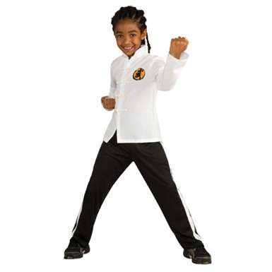 Boys Deluxe Karate Kid Costume