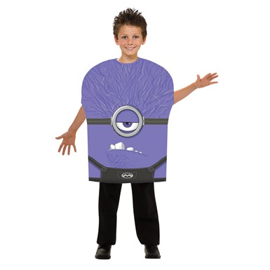Boys Despicable Me Evil Minion Costume