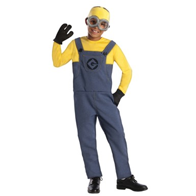 Boys Despicable Me Minion Costume