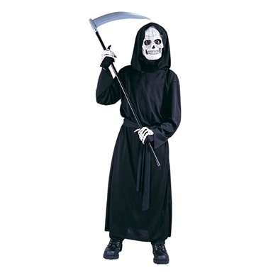 Boys Grave Reaper Halloween Costume Size Up to 12