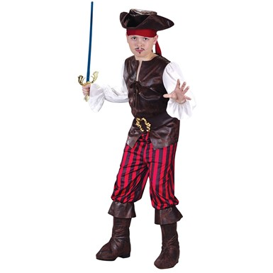 Boys High Seas Buccaneer Costume