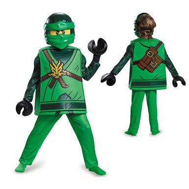 Boys Ninjago Deluxe Lloyd Costume – LEGO Halloween Costumes