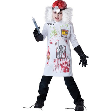 Boys Mad Scientist Costume