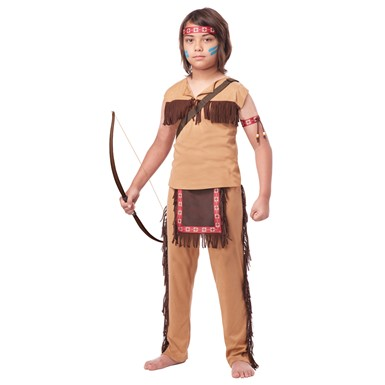 Boys Native American Brave Costume