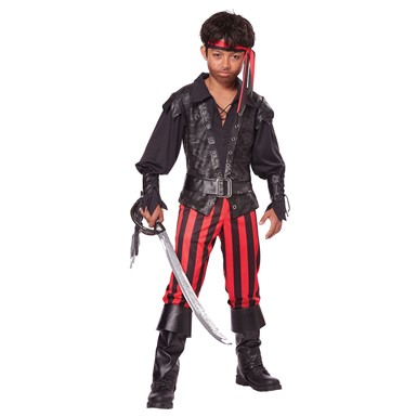 Boys Pirate Buccaneer Costume