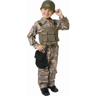Boys Special Forces Costume